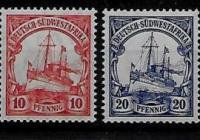 German Colonies - SOUTH WEST AFRICA